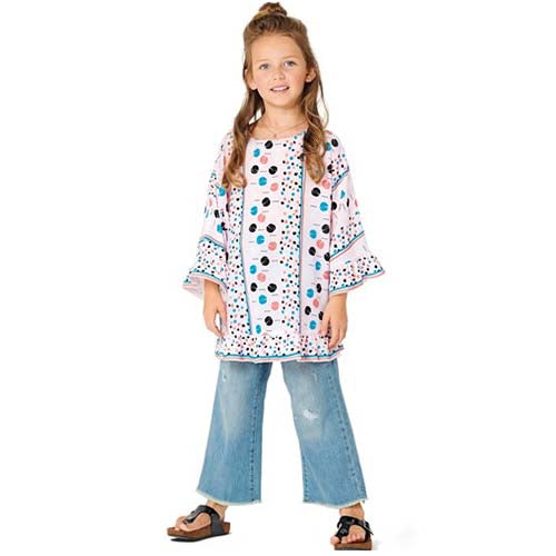 Burda Kids 9303 - Girl's Tops