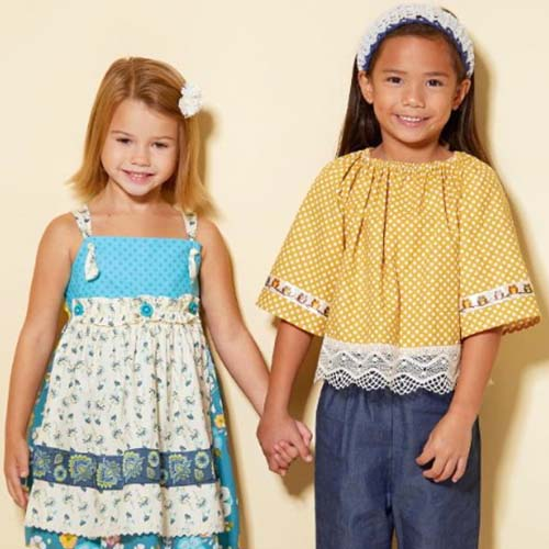 McCall's Girl's 7529 - Boho Outfit