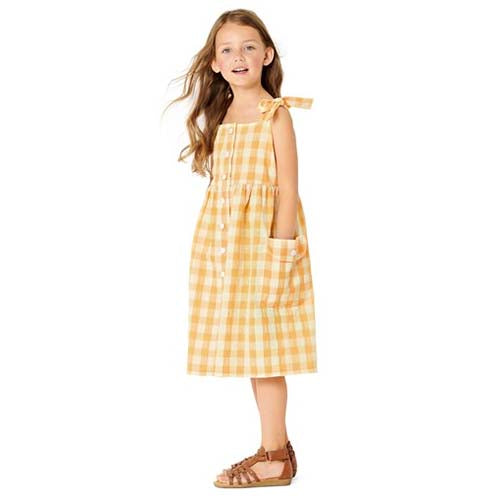 Burda Kids 9304 - Girl's Dress