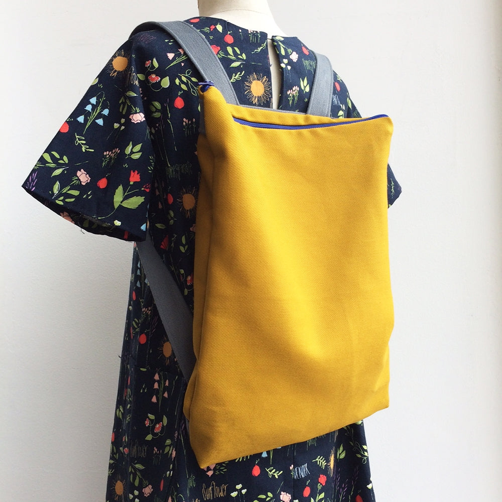 Children's Intro to Machine Sewing Part 2 - Make a Backpack