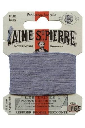 Wool Darning Thread - Steel 165