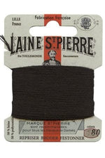 Wool Darning Thread - Black 180