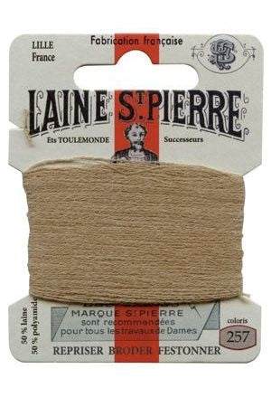 Wool Darning Thread - Light Beige 257