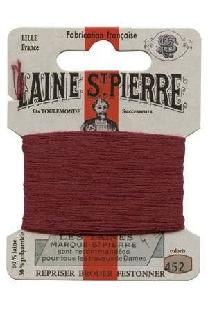 Wool Darning Thread - Garnet 452