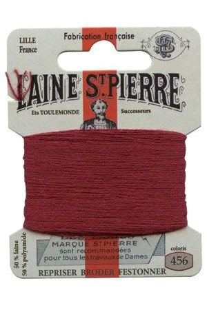 Wool Darning Thread - Bordeaux 456