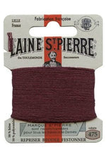 Wool Darning Thread - Burgundy 475
