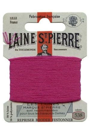Wool Darning Thread - Fuchsia 538