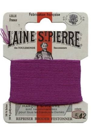 Wool Darning Thread - Plum 542
