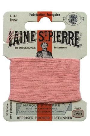 Wool Darning Thread - Dusky Pink 596