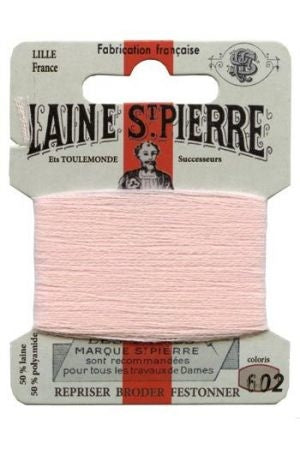 Wool Darning Thread - Baby Pink 602