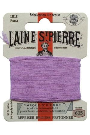 Wool Darning Thread - Mauve 605