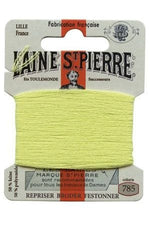 Wool Darning Thread - Lime 785