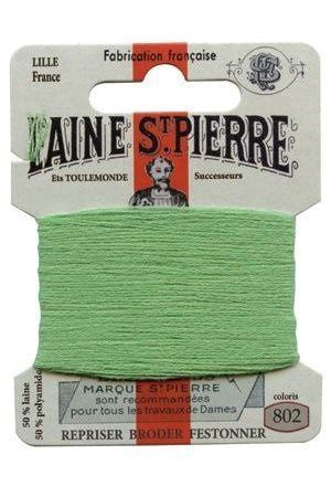 Wool Darning Thread - Pistachio 802