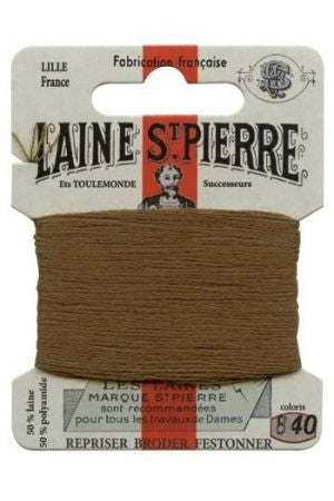 Wool Darning Thread - Army Green 840
