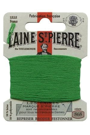 Wool Darning Thread - Lawn 868