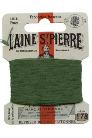 Wool Darning Thread - Forest 878
