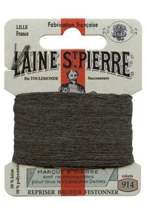 Wool Darning Thread - Slate 914