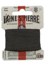 Wool Darning Thread - Anthracite 916