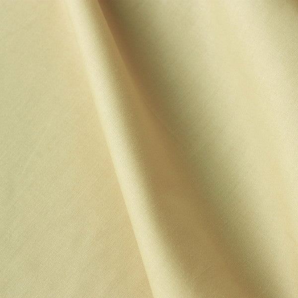 Polycotton Lining - Light Yellow