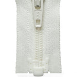Light Nylon Open-Ended Zip - Cream 502