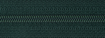 Light Nylon Open-Ended Zip - Forest Green 890
