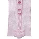 Light Nylon Open-Ended Zip - Light Pink 512