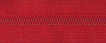 Light Nylon Open-Ended Zip - Red 519