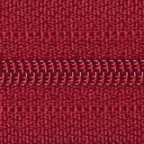 Light Nylon Open-Ended Zip - Scarlet Berry 520