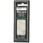 Decora Hand Embroidery Thread - Silver 1410
