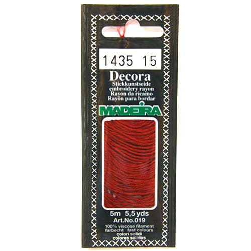 Decora Hand Embroidery Thread - Garnet 1435