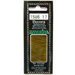 Decora Hand Embroidery Thread - Olive 1506