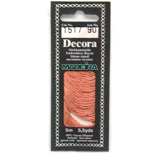 Decora Hand Embroidery Thread - Pink 1517