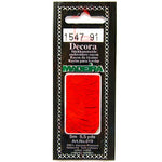 Decora Hand Embroidery Thread - Ruby 1547