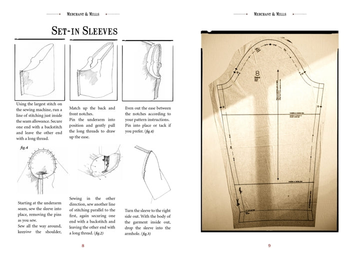 Merchant and Mills - Elementary Sewing Skills Book