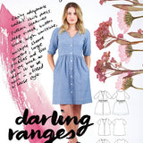 Megan Nielsen - Darling Ranges Shirt Dresses & Blouse
