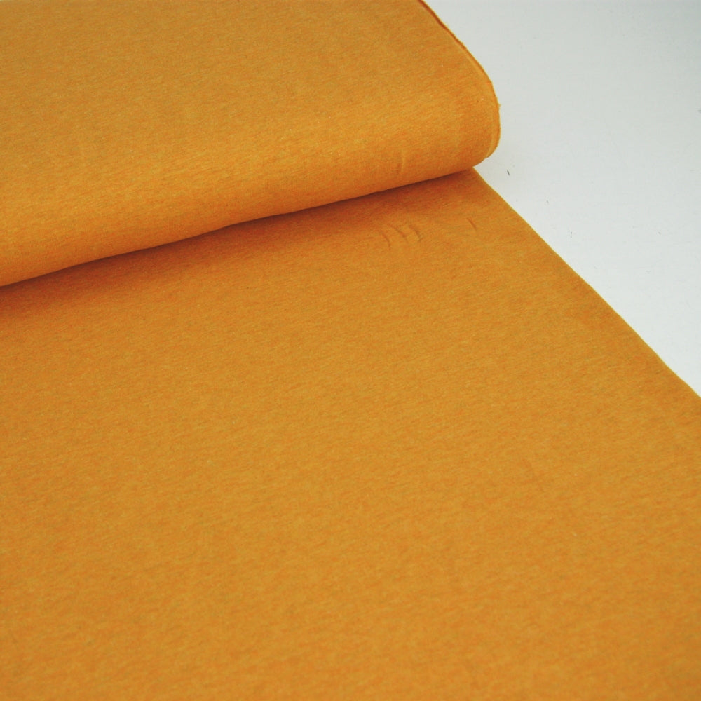 Melange Cotton Jersey - Yellow