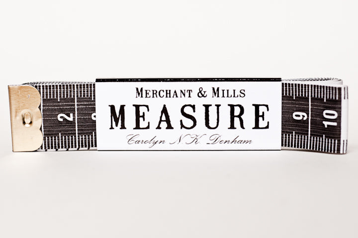 Merchant and Mills - Black Tape Measure
