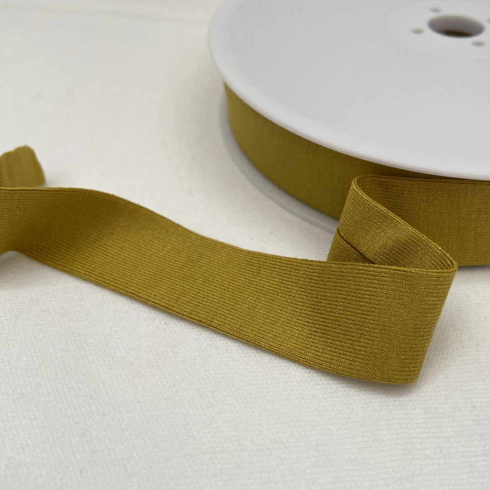Viscose Jersey Binding 20mm - Mustard