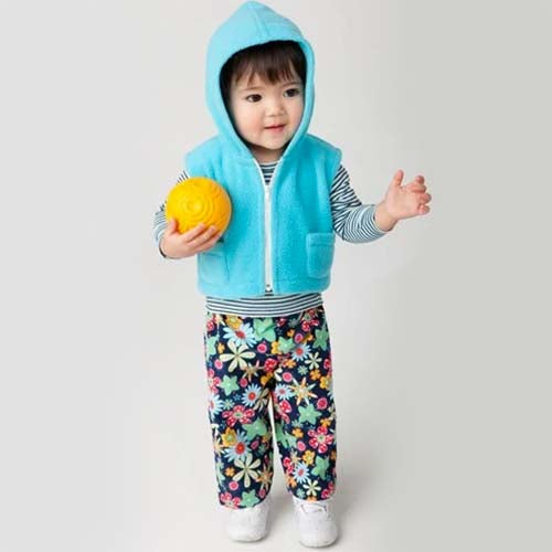 Simplicity Baby 1566 - Zip-up Jacket, Overalls, Top & Hat