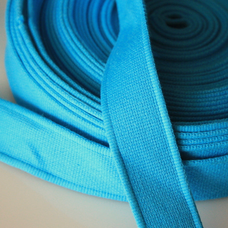 Cotton Strap Webbing - Turquoise