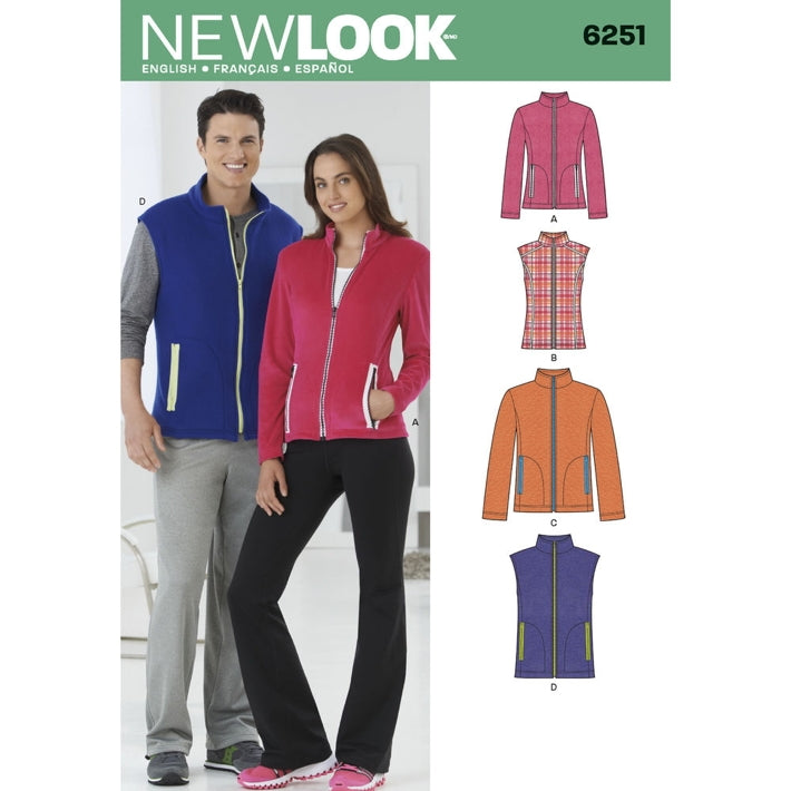 New Look Unisex 6251 - Fleece Jackets