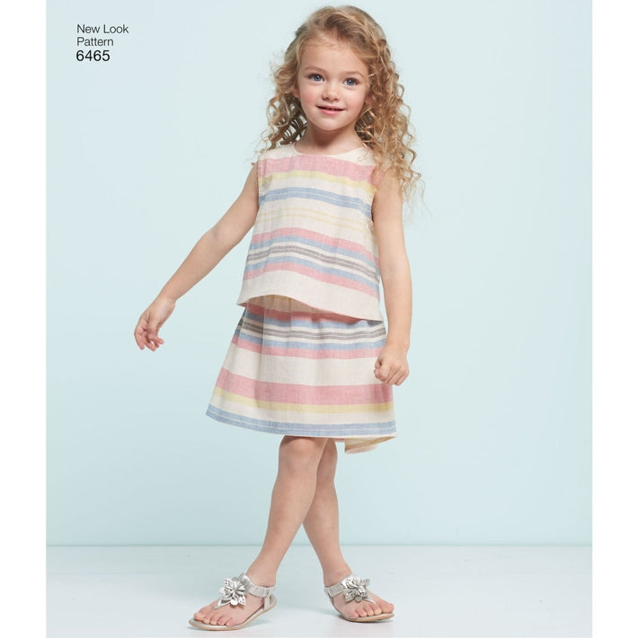 New Look Children's 6465 - Easy Summer Separates