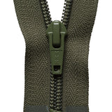 Heavy Nylon Open-Ended Zip - Khaki 566