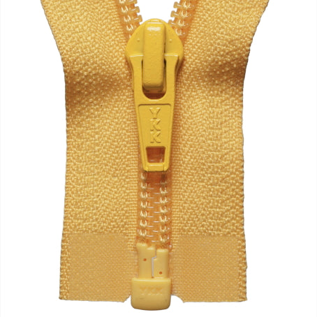 Heavy Nylon Open-Ended Zip - Yellow 001