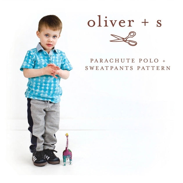 Oliver and S - Parachute Polo + Sweatpants