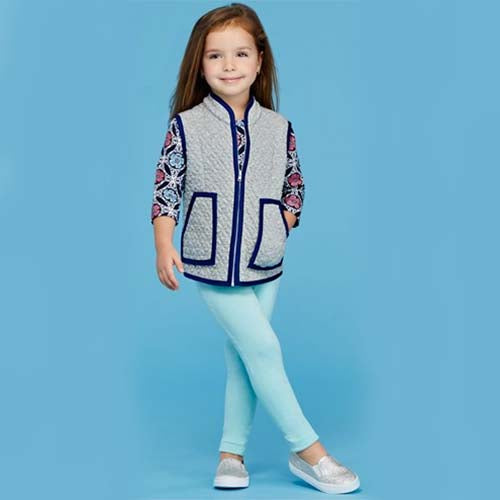 Simplicity Girls' 8027 - Toddler, Girl's & Teen's Funky Outfit