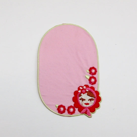Iron-on Children's Patches - Pink Lady
