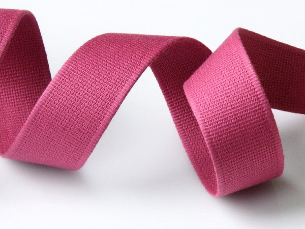 Cotton Strap Webbing - Hot Pink