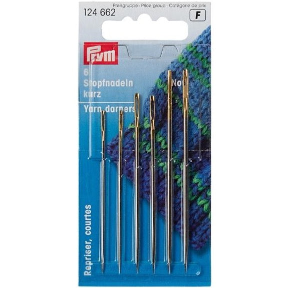 Prym 124662 - Yarn Darning Needles No. 5/0-1/0