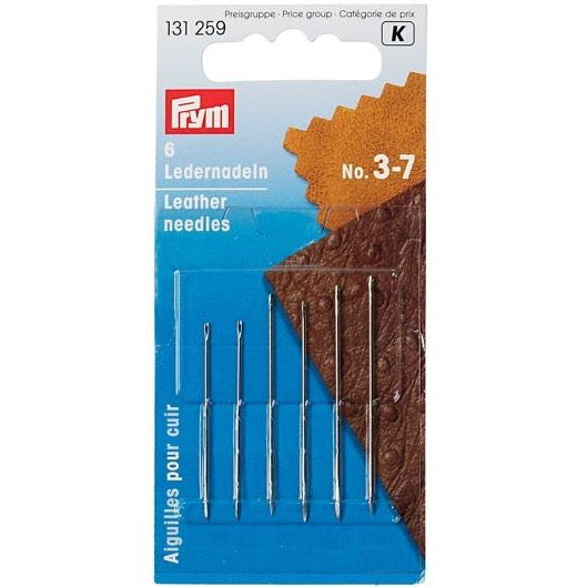 Prym 131259 - Leather Needles No. 3-7
